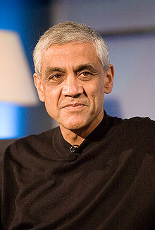 Vinod Khosla (Image from Wikipedia)
