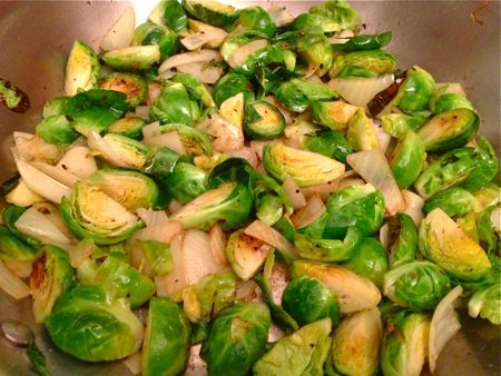 Brussles Sprouts Simply sauteed