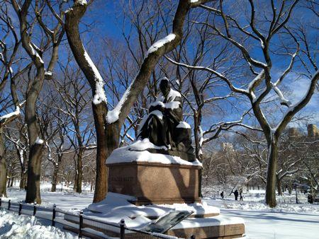 Central Park snow 6