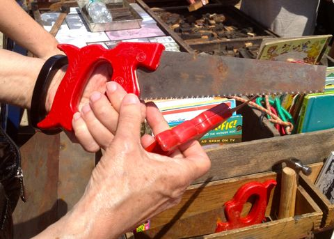Red Saw